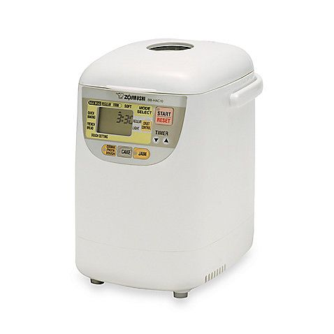 The Home Bakery Mini Breadmaker's one pound loaf is the perfect size for smaller households to savor the taste of freshly baked bread everyday without waste. Its compact design also makes it ideal for kitchens with limited countertop space.