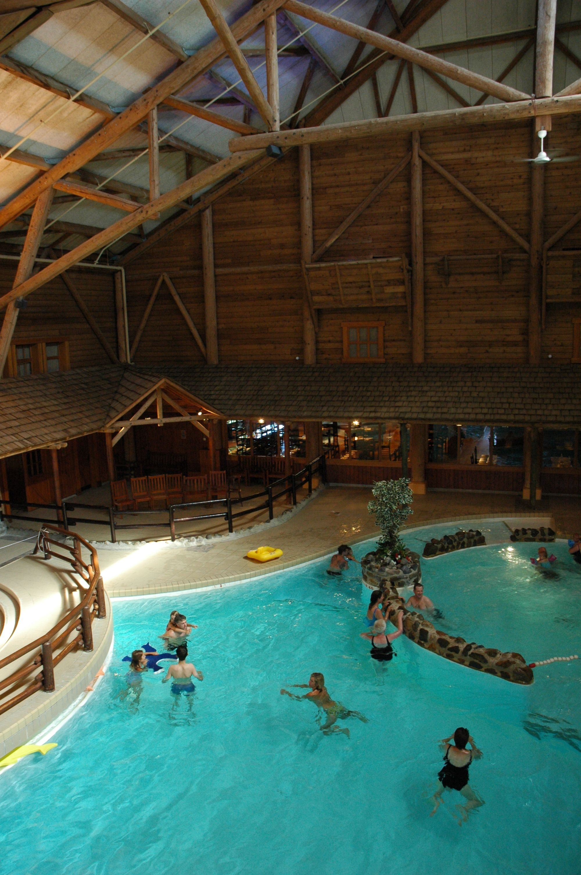 Disney Hotels Davy Crockett Ranch Indoor Pool Disneyland Paris
