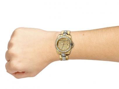 Relógio Feminino Ana Hickmann AH 28197 H - Analógico Resistente à Água Calendário com as melhores condições você encontra no Magazine Simply. Confira!