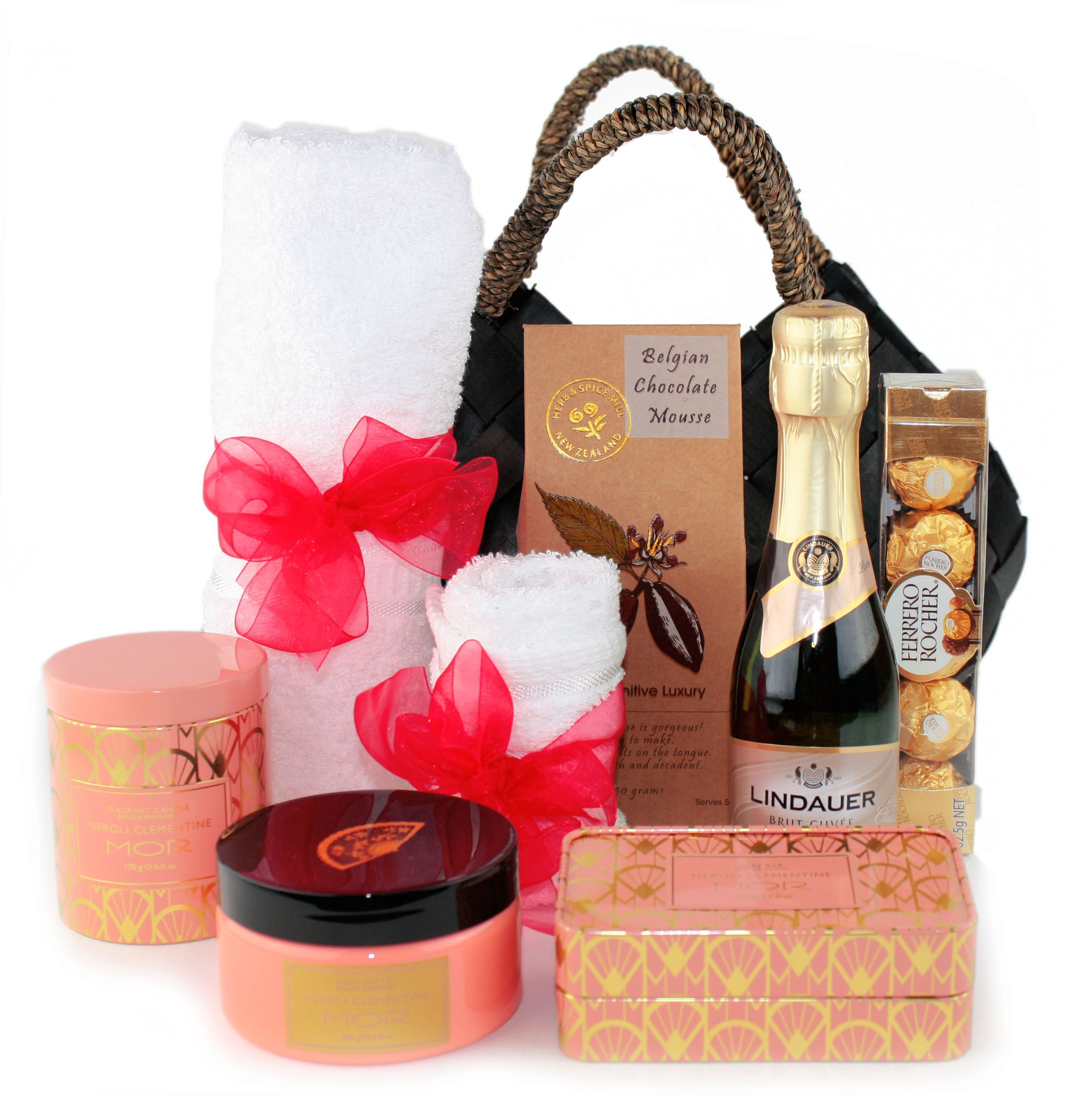 Mor Treats Gift Hamper From Www Aboutgiving Co Nz With Images Gifts Treat Gift Gift Hampers