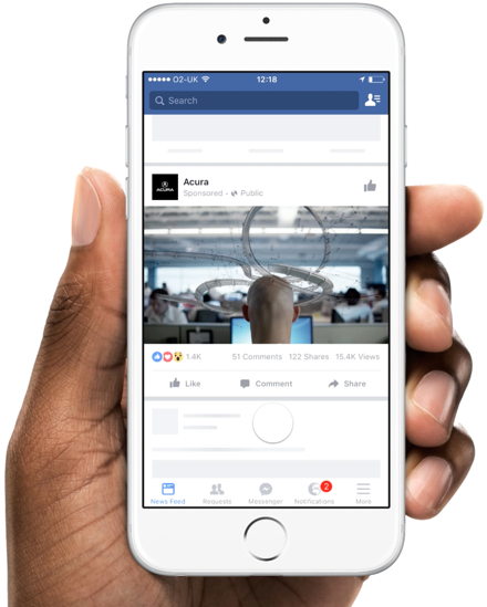 Facebook Creative Hub A New Way To Create Preview Mockups For Ads With Facebook Facebook Ad Mockup Cannes Lions Creative Hub