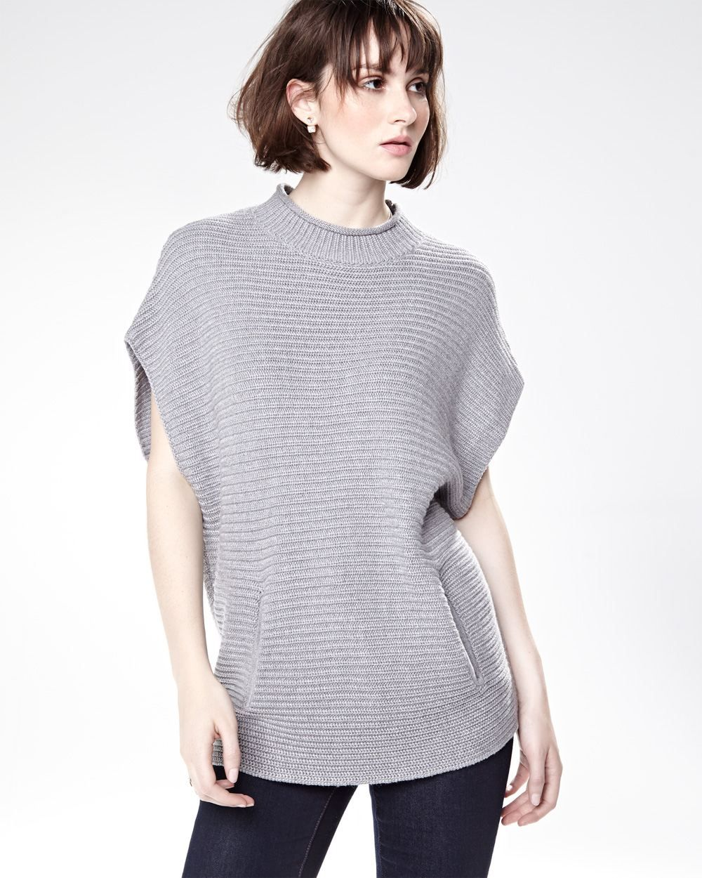 Ribbed short sleeve sweater | Fall Fashion Wants | Pinterest ...