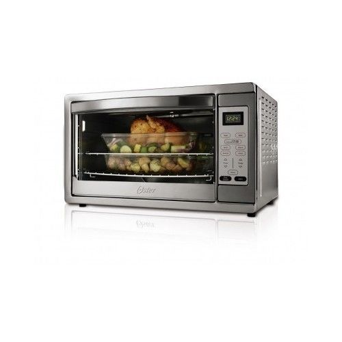 New Oster X Large Stainless Steel Digital Toaster Oven Tssttvdgxl