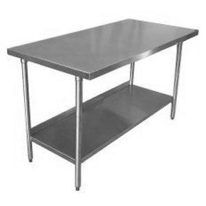in desperate need of work tables 18 gauge stainless steel commercial work table 30 - Kitchen Steel Table