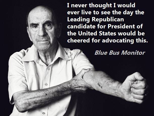 THIS is what we'll get if Trump is somehow elected POTUS....We MUST VOTE BLUE!
