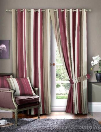 Timeless Vertical Striped Curtains For A Charming Finish To Your