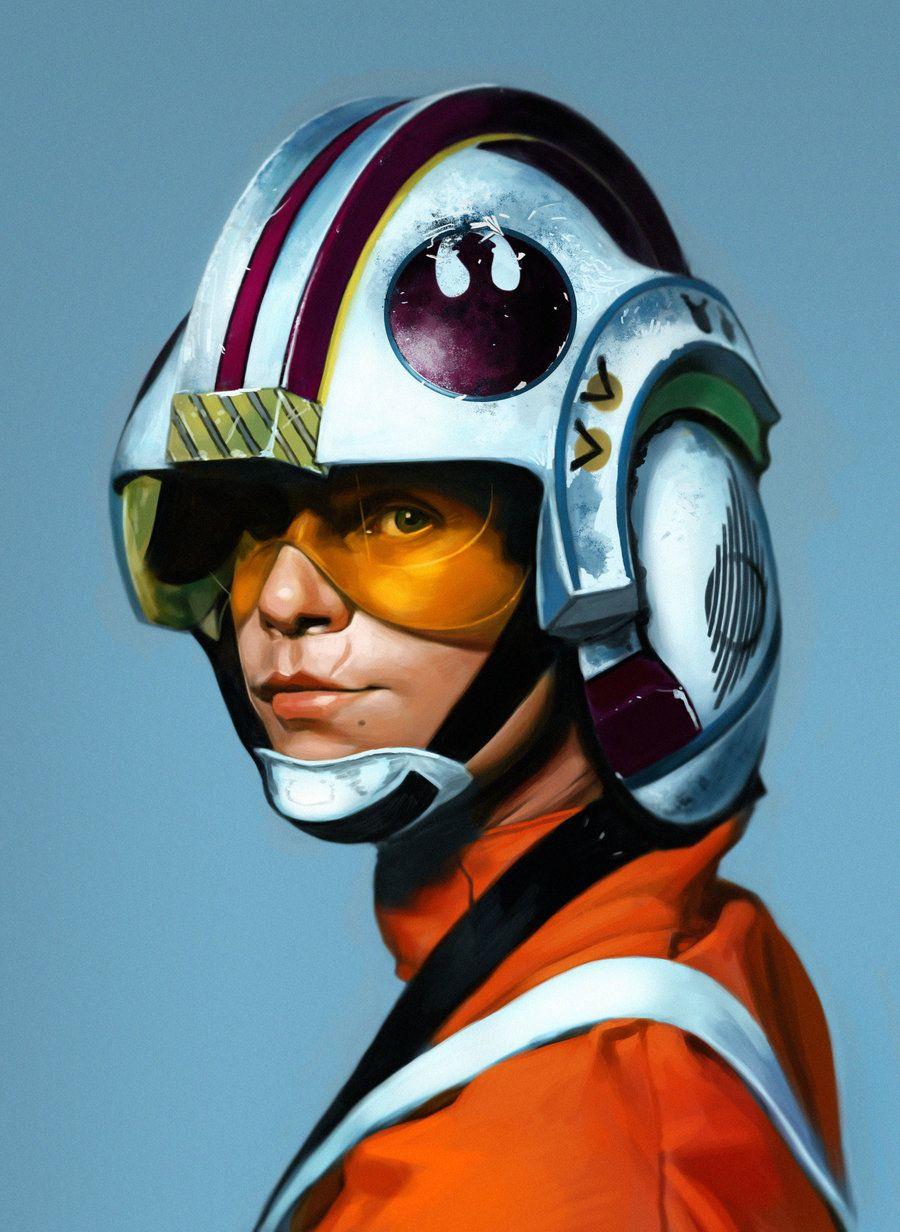Luke Skywalker By Matjosh On Deviantart Star Wars Poster Star Wars Artwork Star Wars Art