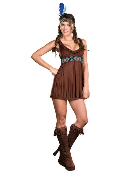Sexy Tribal Trouble Womenu0027s Indian Costume  sc 1 st  Pinterest & Sexy Tribal Trouble Womenu0027s Indian Costume | Indian costumes ...