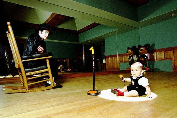 mj and prince in michael s studio at neverland michael jackson the king of pop