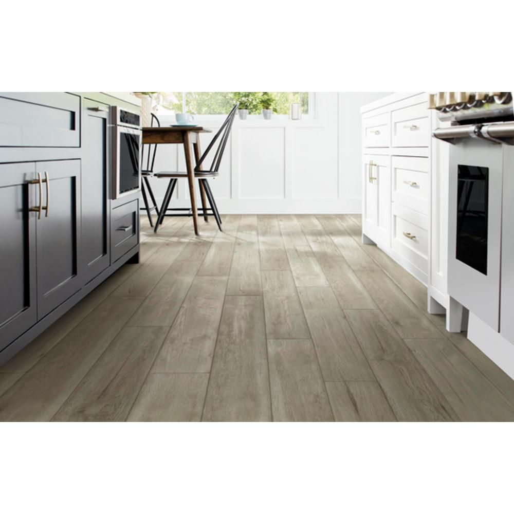Home Decorators Collection Grand Forks Hickory 12mm Thick X 8 03 In Wide X 47 64 In Length Laminate Flo In 2020 Laminate Flooring Flooring Home Decorators Collection