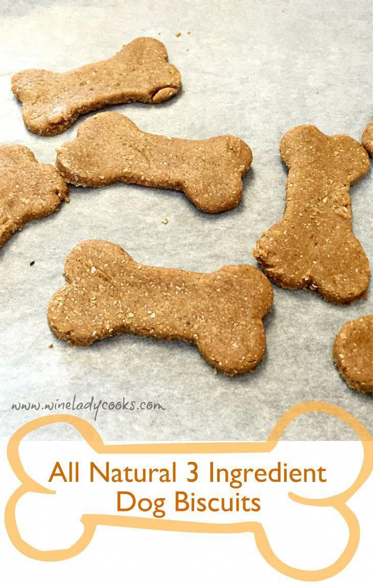 Instead of using white flour in your pet dog cookies or