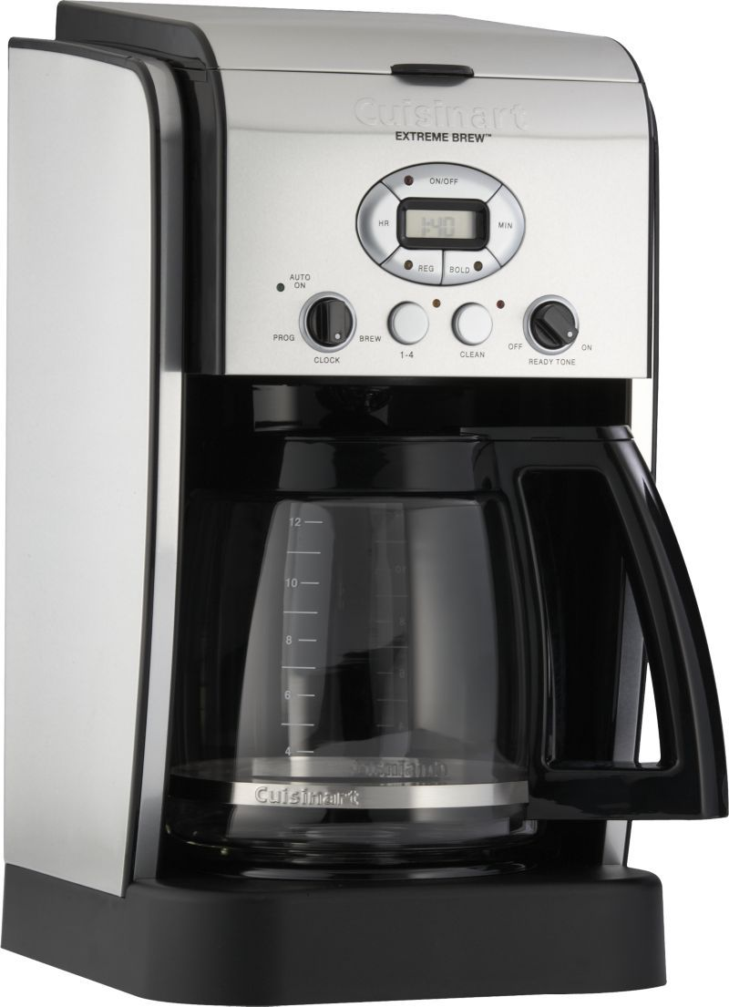 Cuisinart 12 Cup Extreme Brew Coffee Maker Reviews Crate And Barrel Cuisinart Coffee Maker Coffee Maker Coffee Maker With Timer