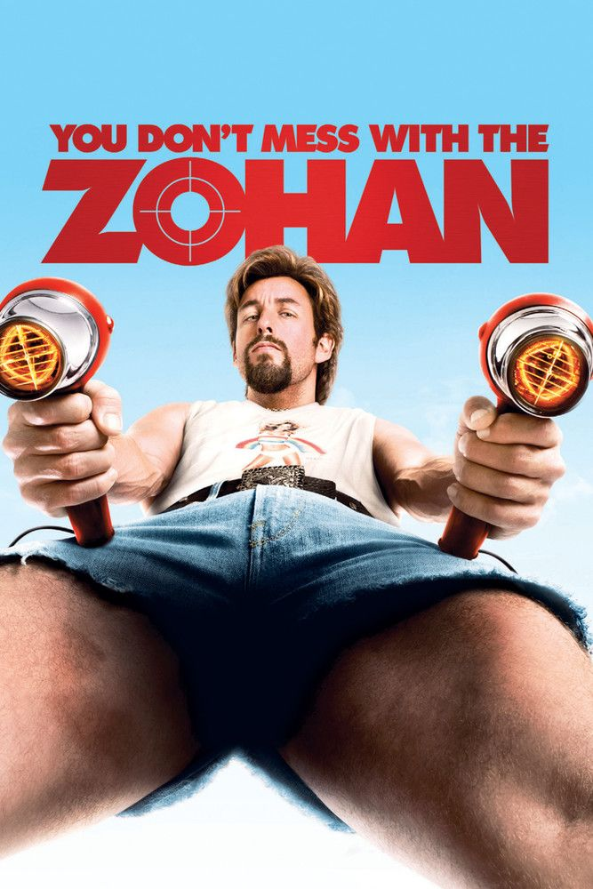 You Don't Mess with the Zohan 2008 Dual Audio Eng Hindi