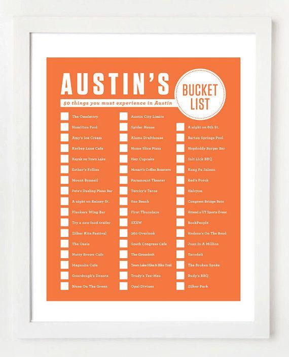 atx bucket list