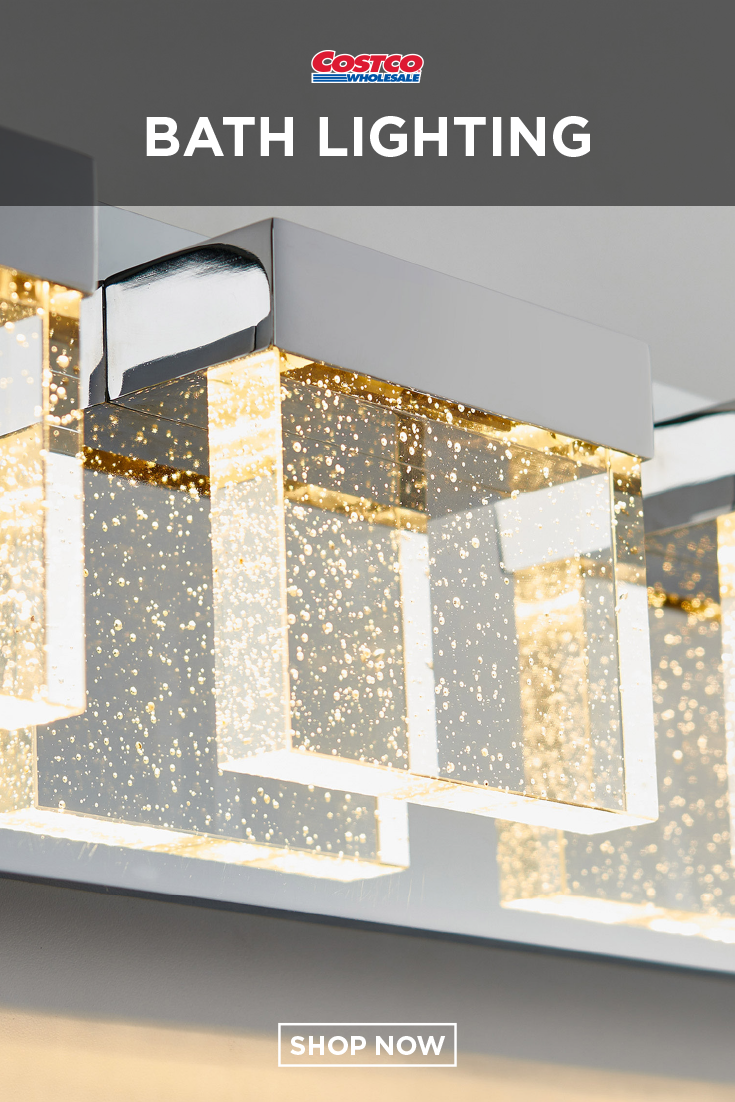 Bubble cube 4 led vanity light by artika in 2019 home furnishings