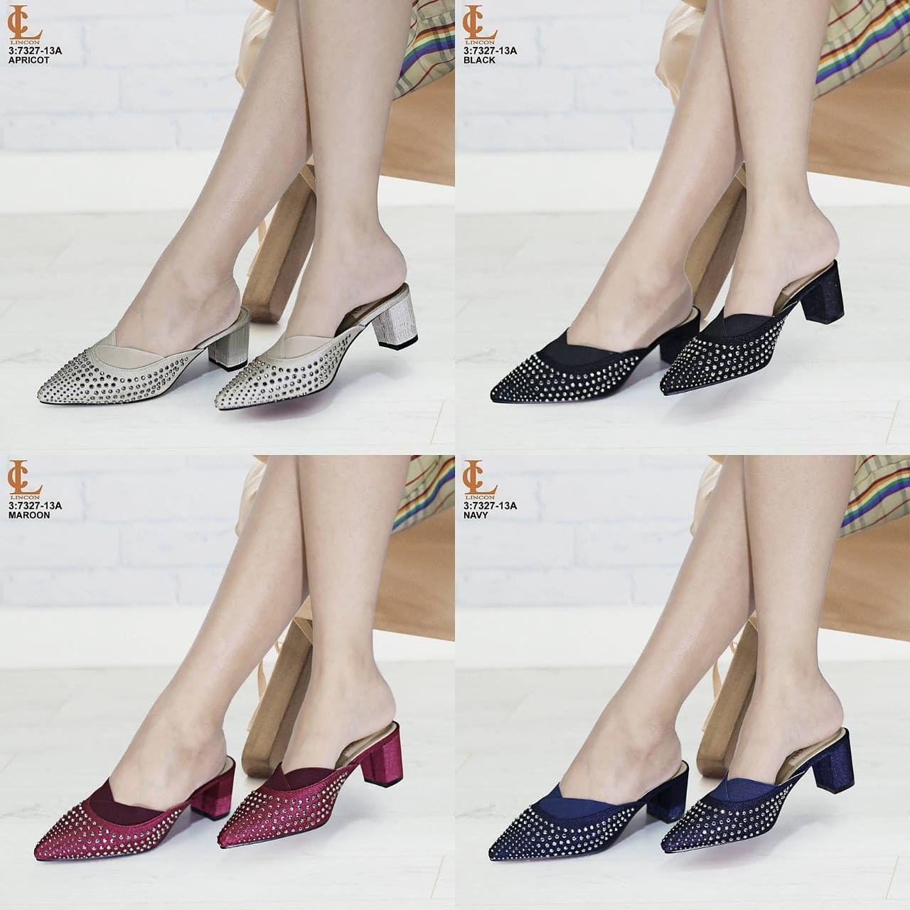 Sepatu Slop Lincon Seri 7327 13a Kualitas Original Brand Bahan