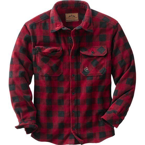 Men's Navigator Fleece Button Down Shirt at Legendary Whitetails ...
