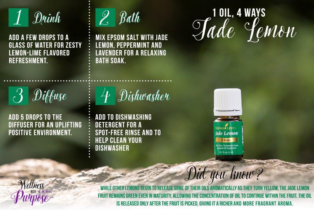Free Jade Lemon Wellnesswithpurpose Essential Oils