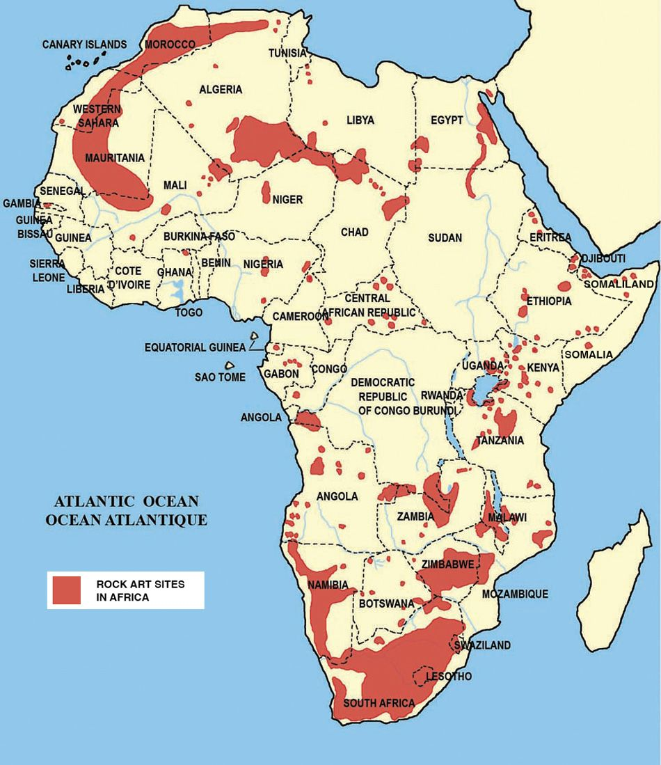 Africa S Rock Art Tara Trust For African Rock Art African Paintings Rock Art Africa Rocks