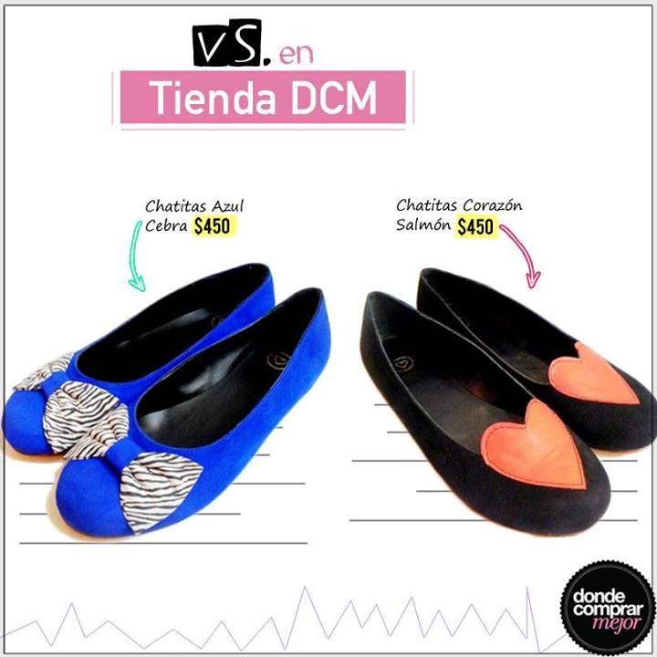 Un nuevo #vs en este lunes, con dos modelos de las tan amadas chatitas. ¿Cuál te gusta más?  Aprovechá los SÚPER DESCUENTOS en www.tiendadcm.com/listado/Zapatos/27080