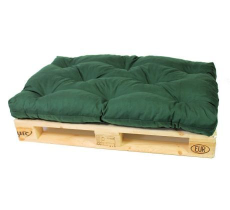 296ef2f35500 Doplnkydozahrady - SEDÁKY NA PALETOVÝ NÁBYTOK - sedák 120x80 na paletový  nábytok K3 - zelený
