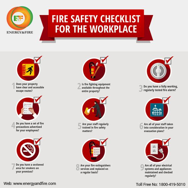 Know #Fire #Safety #Checklist for your #Workplace with