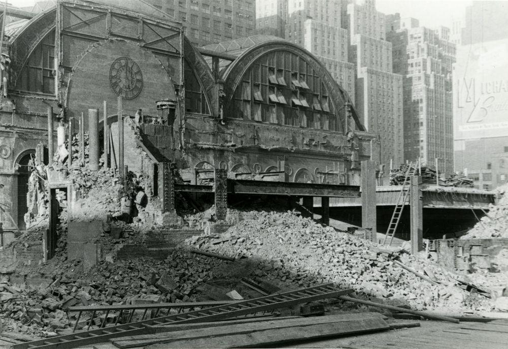 Penn Station Demolition December 8 1965 Photograph By Alexander