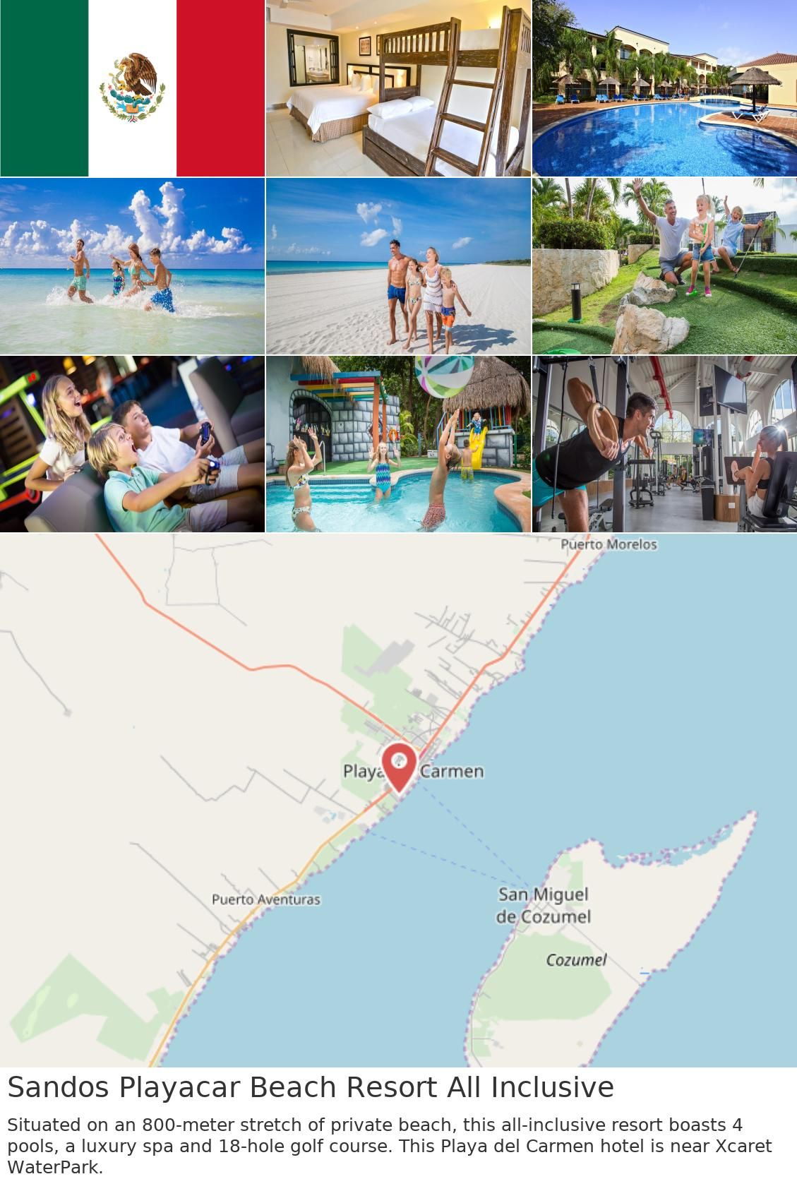 Sandos Playacar Beach Resort All Inclusive All Inclusive Resorts