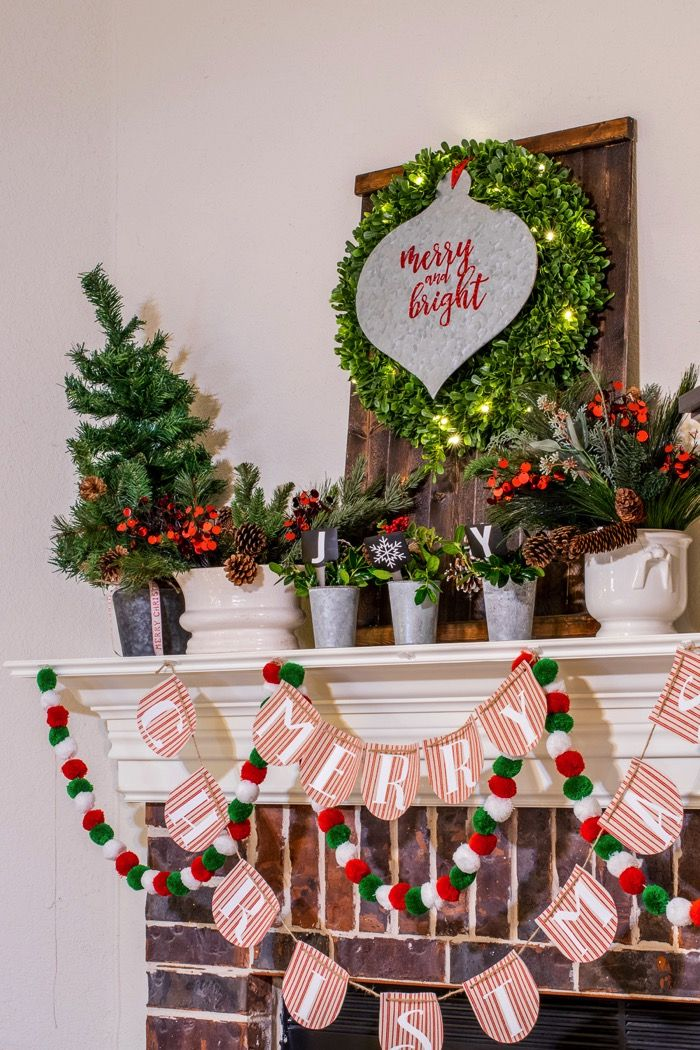 Fixer Upper Inspired Holiday Home Tour! Items collected from Waco ...