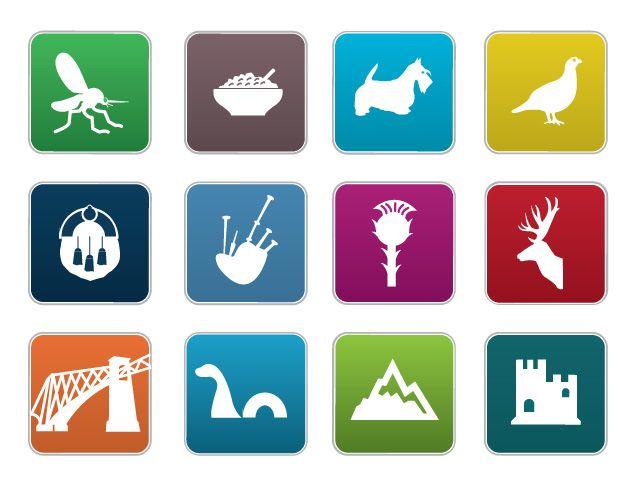 Kiltr Iconic Symbols Of Scotland Used On The Network