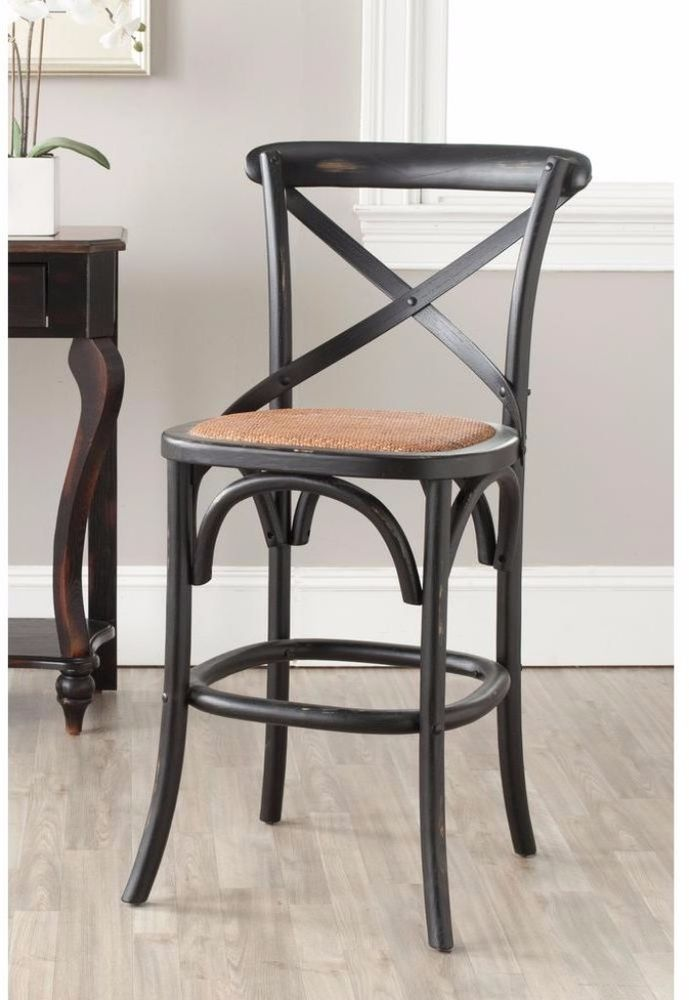 Elegant 24 Upholstered Counter Stools