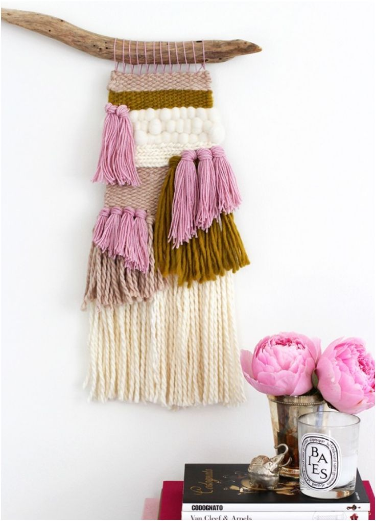 Top 10 Simple Yet Amazing DIY Fiber Wall Art | Decorating Your Wall ...