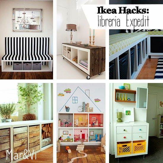 Expedit Ikea Hack mar vi creative studio españa ikea hacks ideas para personalizar