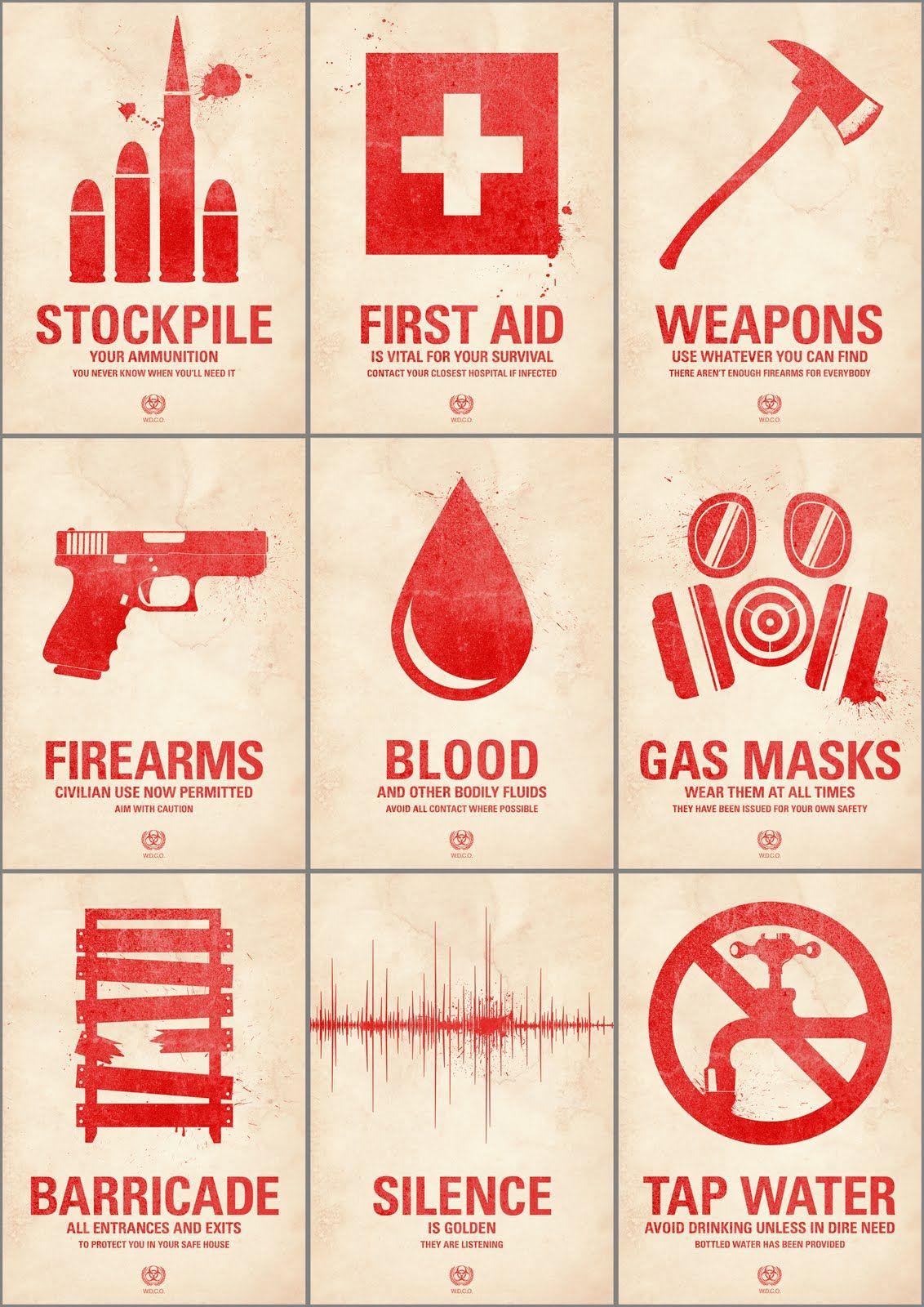 Zombie Survival Guide Kit | www.pixshark.com - Images ...