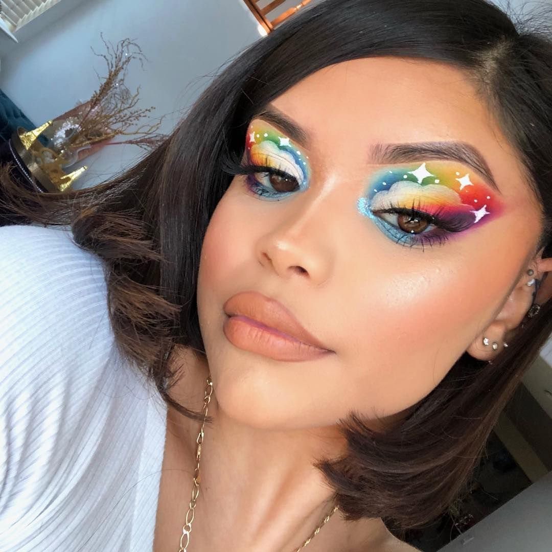 Pin by 🌹ʝɛѕѕíϲα🌹 on мαкє υρ Creative makeup looks