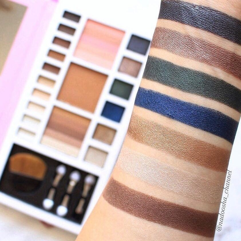 Beauty UK Blush & Glow Makeup Palette / Eyeshadow Palette