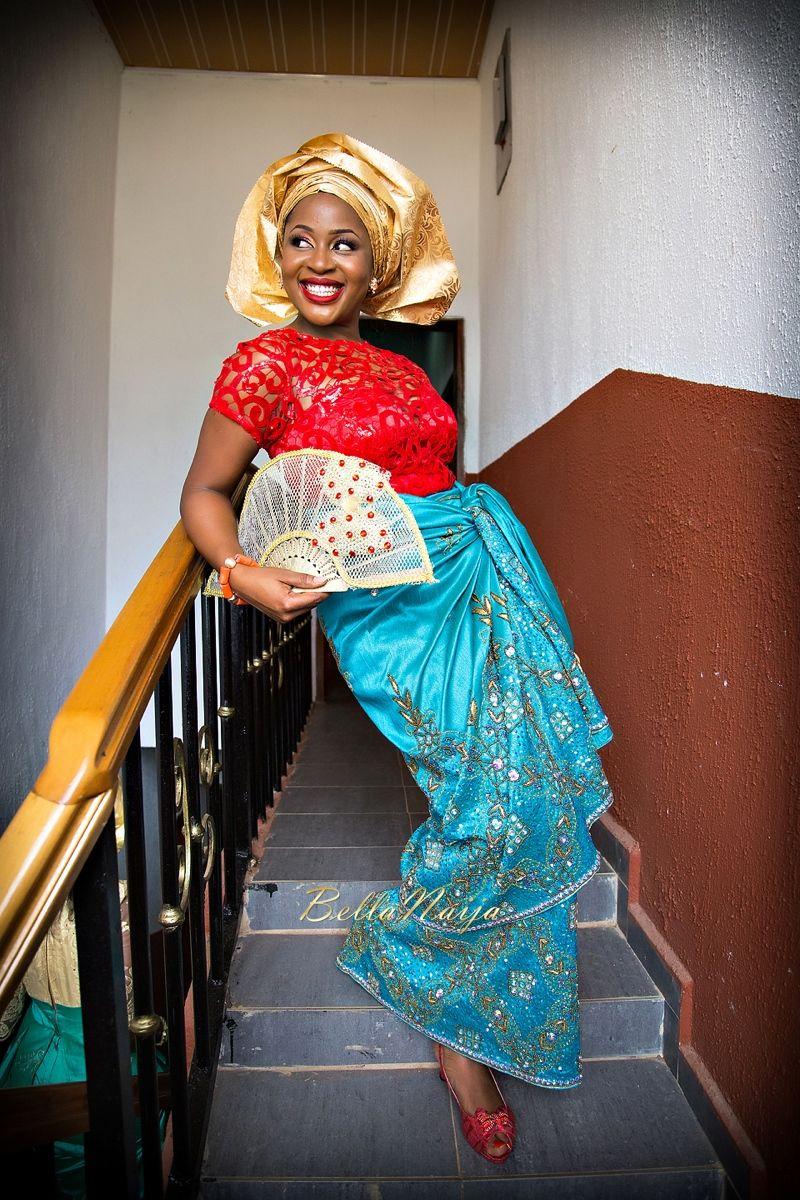 Yagazie u oziegbeus wedding igbo bride attire