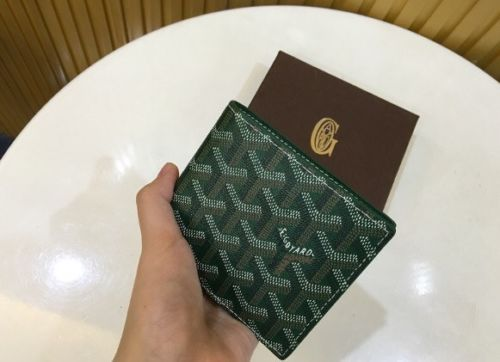 Authentic Green Bifold Goyard Wallet https://t.co/L1UlnHTCAY https://t.co/fCGxry4zYP