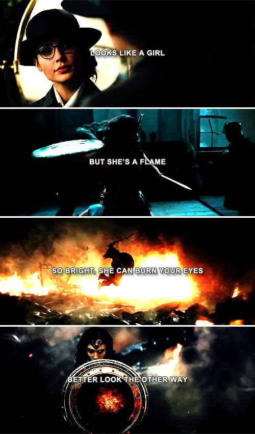 Quotes From Wonder Woman Movie: Wonder Woman: This Girl Is On Fire