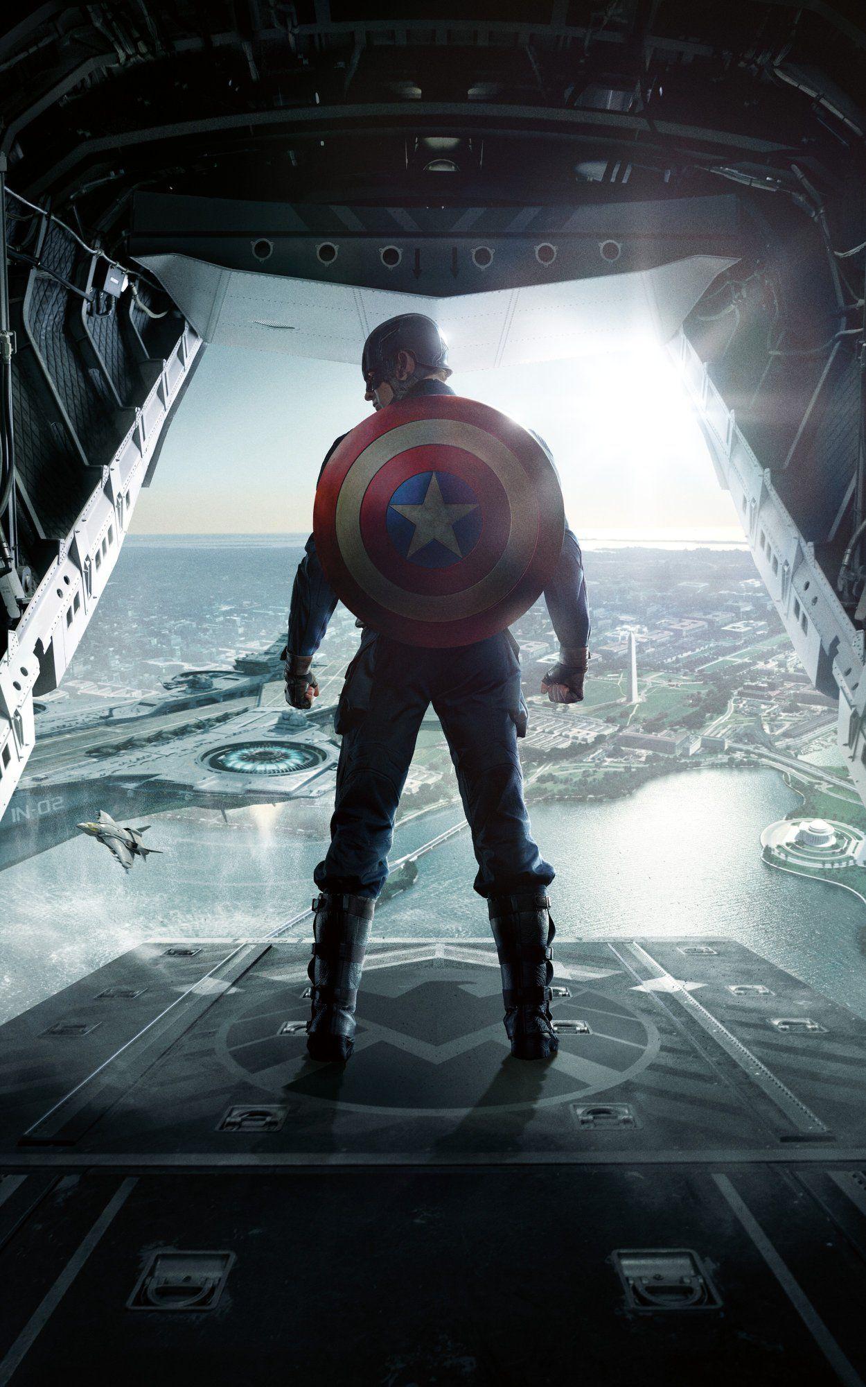 colea§ao de cartazes do mcu sem texto avengers captain america
