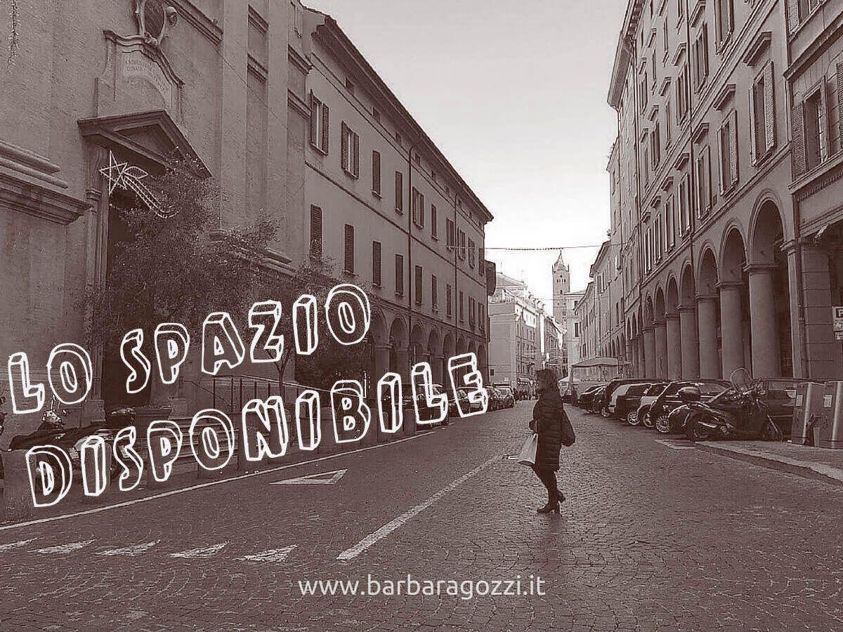 Barbara Gozzi: lo spazio disponibile per #liabbiamoaiutaticosì @barbaragozzi si scopre e si racconta in un momento di crescita...