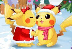 Pikachu y su novia tienen que darse besos ha escondidas sin que nadie lo vean. Ayuda a esta pareja de Pokémon ha besarse cuando nadie puedan verlos, de lo contrario se enojará la novia de Pikachu y tendrás que empezar de nuevo a conquistar su corazón.