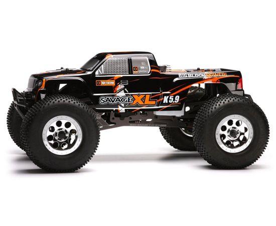 Hpi Savage Xl 5 9 Big Block 2 4ghz 1 8 4wd Rtr Nitro Rc Monster Truck 669 95 Monster Trucks Rc Monster Truck Trucks