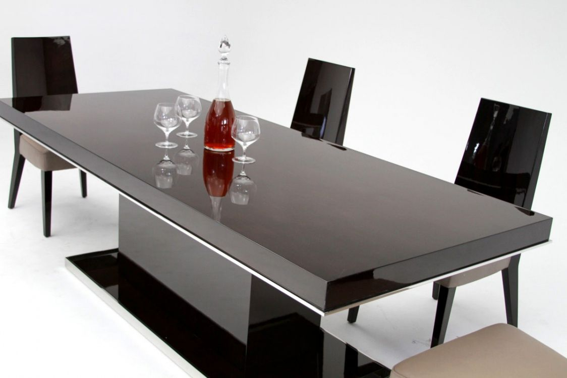 Black Lacquer Dining Room Set Best Spray Paint For Wood Furniture Check More At Http 1pureedm