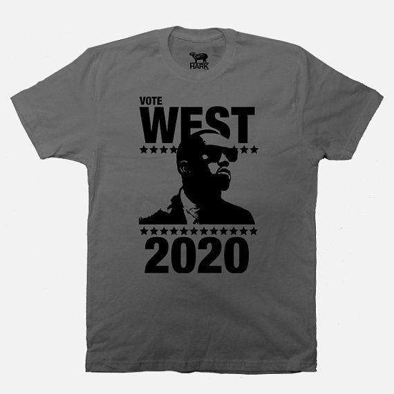 Kanye President Tee Kanye West 2020 Shirt Etsy Clothes Screen Printing Shirts Clothes Design