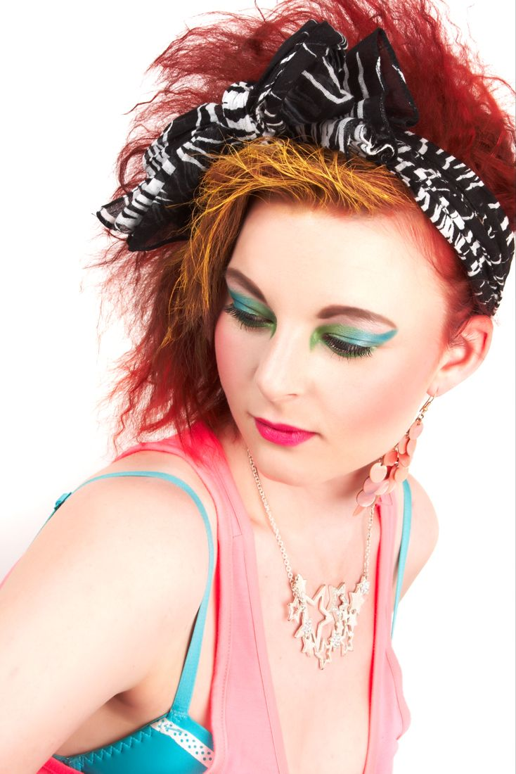 80s makeup inspired by Madonna and Cyndi Lauper | 80s ...