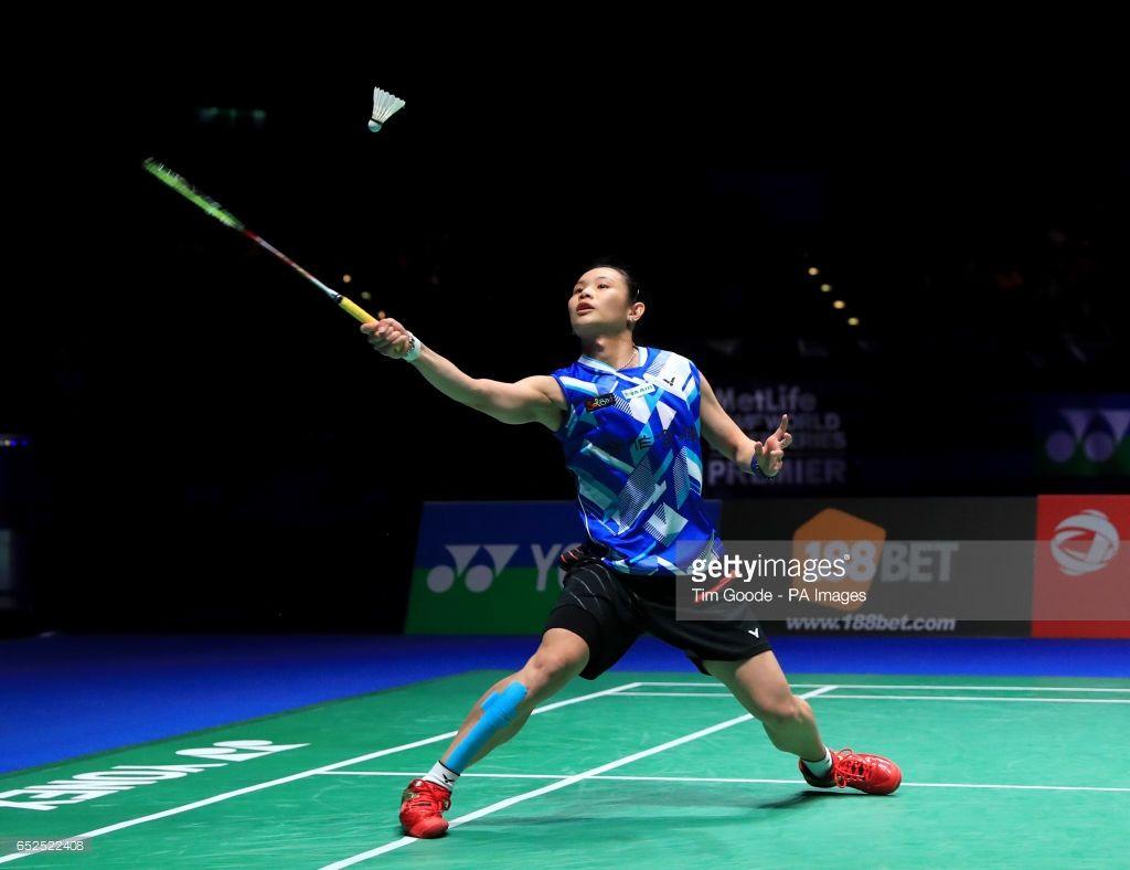 Chinese Taipei S Tai Tzu Ying Against Thailand S Ratchanok Intanon In Chinese Taipei Badminton Championship Taipei
