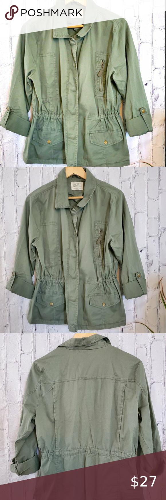 Ashley By 26 International Outerwear Jacket Xl Outerwear Jackets Stylish Jackets Outerwear [ 1740 x 580 Pixel ]