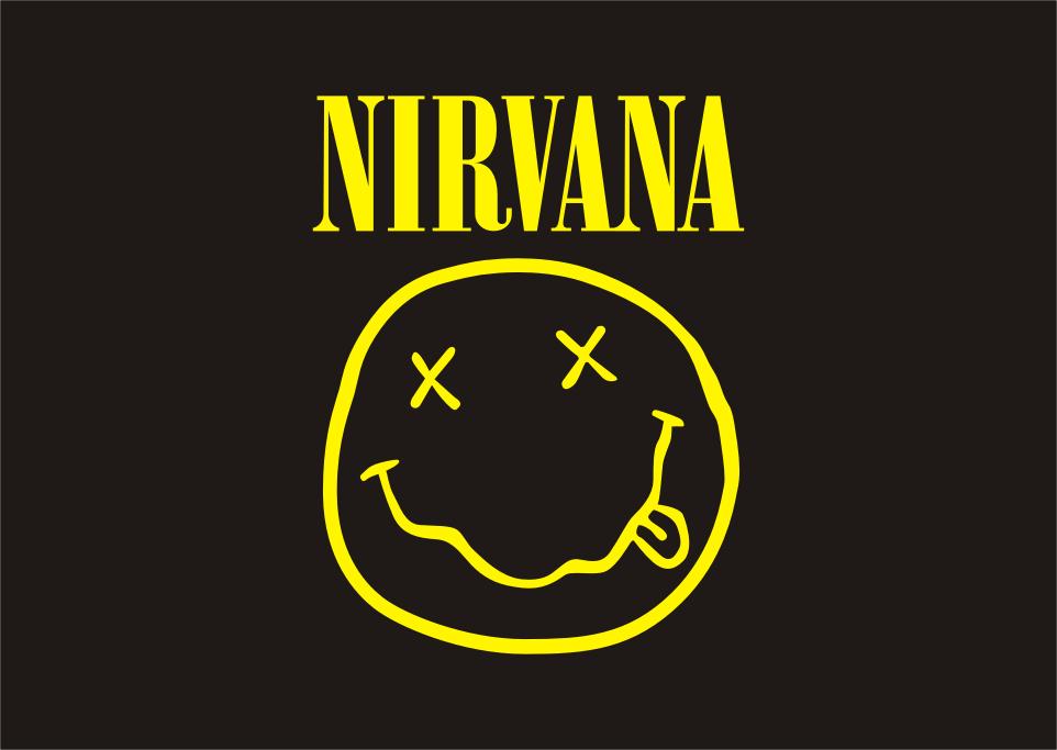 Logo Nirvana (band) Vector