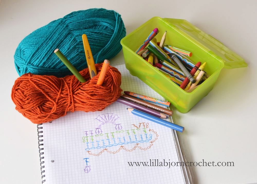About My Battle with Crochet Charts Software | Pinterest